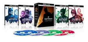 Batman 4 Film Collection 4k Blu-ray