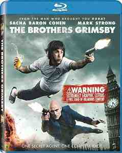 Brothers Grimsby Blu ray Isla Fisher