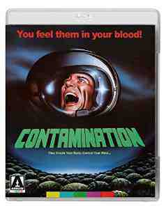 Contamination Dual Format Blu ray DVD