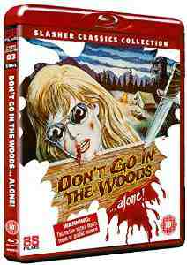Dont Go Woods Alone Blu ray