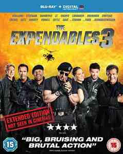 Expendables 3 Blu ray Sylvester Stallone Extended