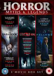 Horror Myths & Legends Boxset DVD