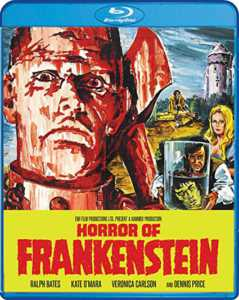 Horror of Frankenstein Blu-ray