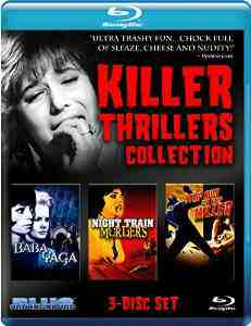 Killer Thrillers Collection Blu ray Carroll