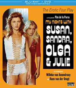 My Nights with Susan, Sandra, Olga & Julie DVDBlu-rayCombo