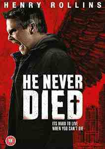 Never Died DVD Henry Rollins