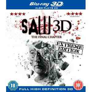 Saw 3D Final Chapter Blu ray