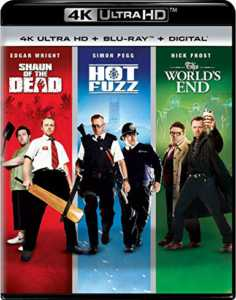 Shaun of the Dead / Hot Fuzz / The World's End Trilogy Blu-ray
