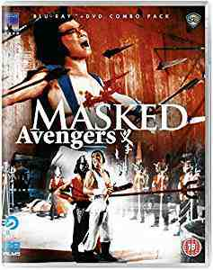 The Masked Avengers Blu-ray