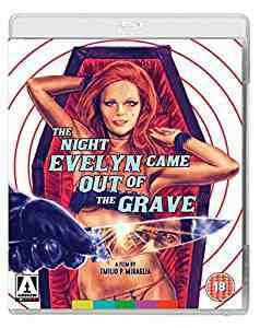 The Night Evelyn Came Out Of The Grave Blu-ray