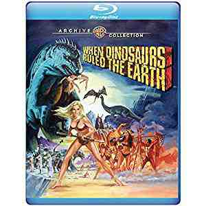 When Dinosaurs Ruled the Earth Blu-ray