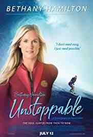 Poster Bethany Hamilton Unstoppable 2018 Aaron Lieber