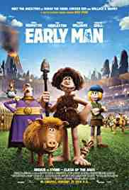 Poster Early Man 2018 Nick Park