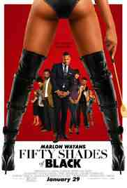 Poster Fifty Shades of Black 2016 Michael Tiddes