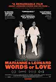 Poster Marianne and Leonard Words of Lov 2019 Nick Broomfield