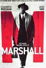 Poster Marshall 2017 Reginald Hudlin
