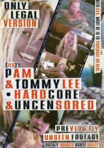 pam and tommy lee poster