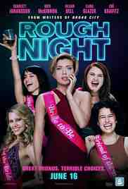 Poster Rough Night 2017 Lucia Aniello