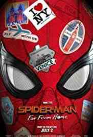 Poster Spiderman Far From Home 2019 Jon Watts