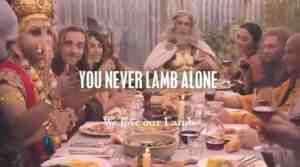 lamb advert video